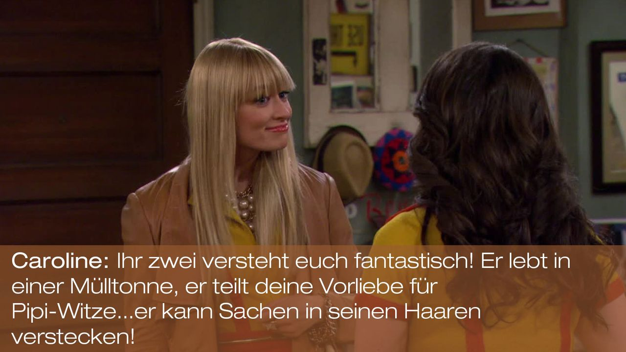 2-Broke-Girls---0316--Zitat-03 - Bildquelle: Warner Brothers