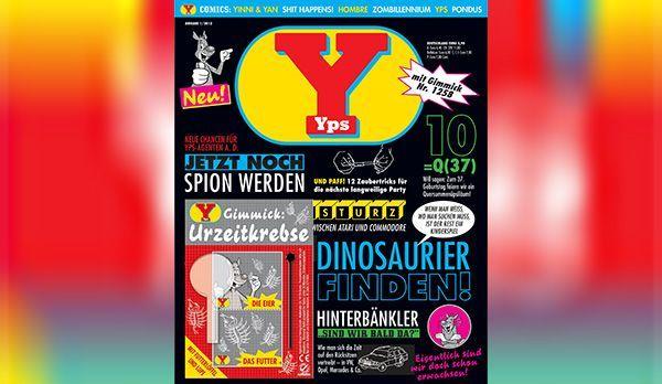Platz 6: Yps-Hefte