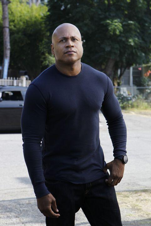 Ermittelt undercover, um einen neuen Fall zu lösen: Sam (LL Cool J) ... - Bildquelle: CBS Studios Inc. All Rights Reserved.