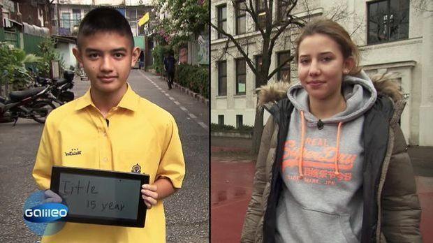 Schulwissen weltweit: Thailand
