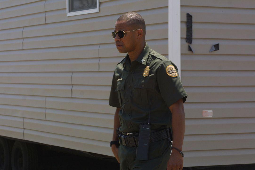 Seine Vergangenheit wird ihm zum Verhängnis: Als der angesehene Border Patrol Agent Michael Dixon (Cuba Gooding jr.) auf Mitglieder seiner ehemalig... - Bildquelle: 2008 Worldwide SPE Acquisitions Inc. All Rights Reserved.