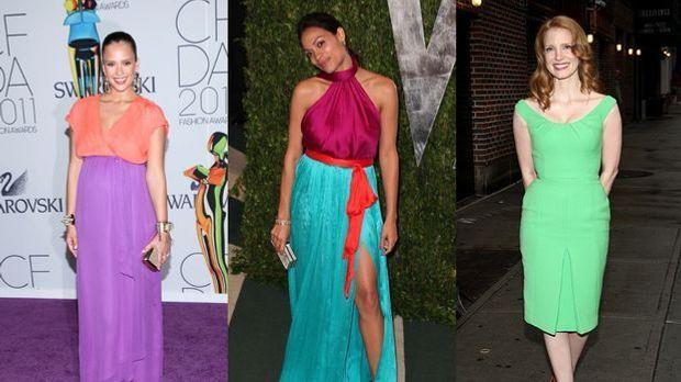 Trendfarben richtig kombinieren: Von Pastellblau bis Erdbeerrot