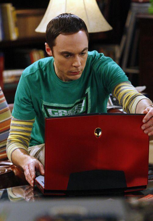 Versucht, seine Freundin Amy wieder loszuwerden: Sheldon (Jim Parsons) ... - Bildquelle: Warner Brothers