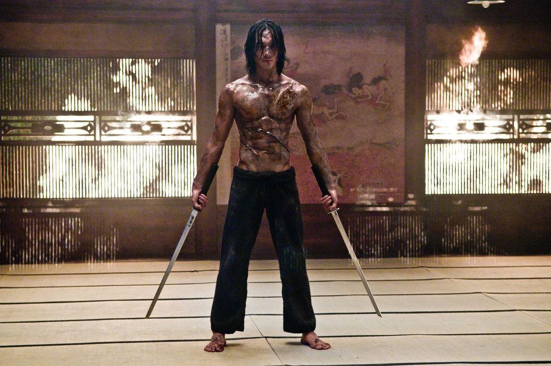 Im Visier einer Armee feindlicher und unbarmherziger Ninjas: Raizo (Rain) ... - Bildquelle: 2009 Warner Brothers