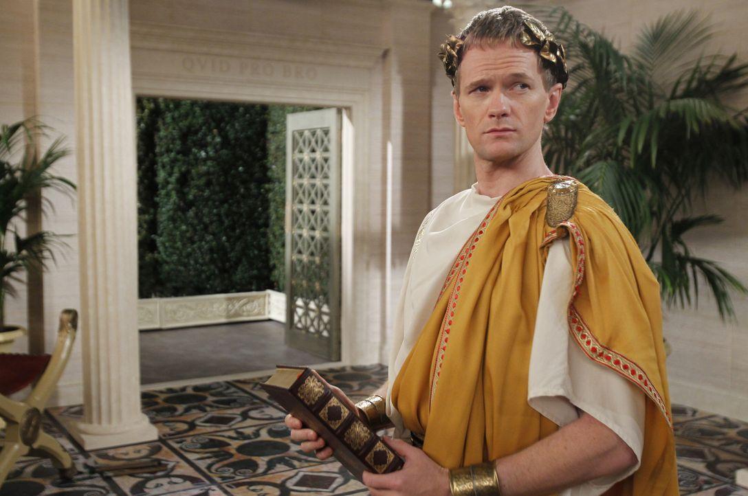 Der Bro-Eid geht bis zu Julius Caesar zurück: Barney (Neil Patrick Harris) ... - Bildquelle: 20th Century Fox International Television