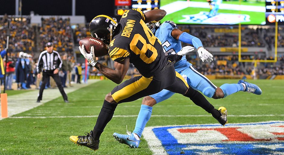 Wide Receiver: Antonio Brown - Bildquelle: 2017 Getty Images