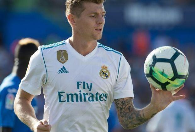 Tauscht am Wochenende Ball gegen Sofa: Reals Toni Kroos