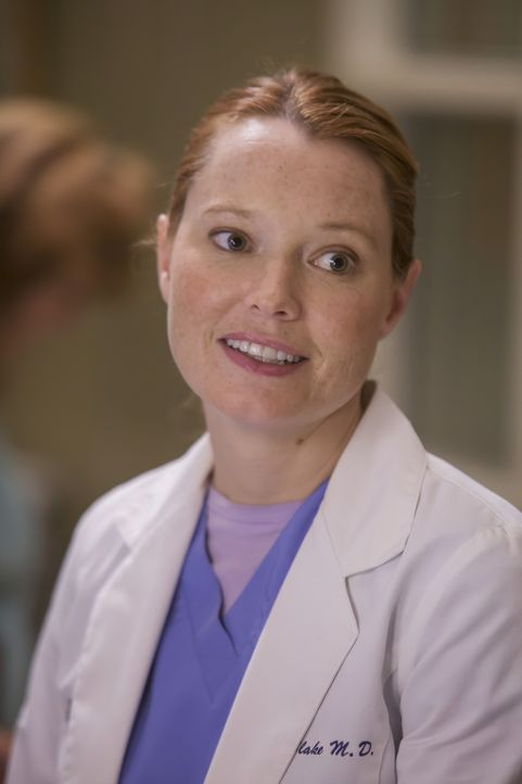 Kümmert sich um Callies Tochter Sofia, die in die Klinik eingeliefert wurde, während Callie im OP ist: Penelope (Samantha Sloyan) ... - Bildquelle: Ron Batzdorff ABC Studios