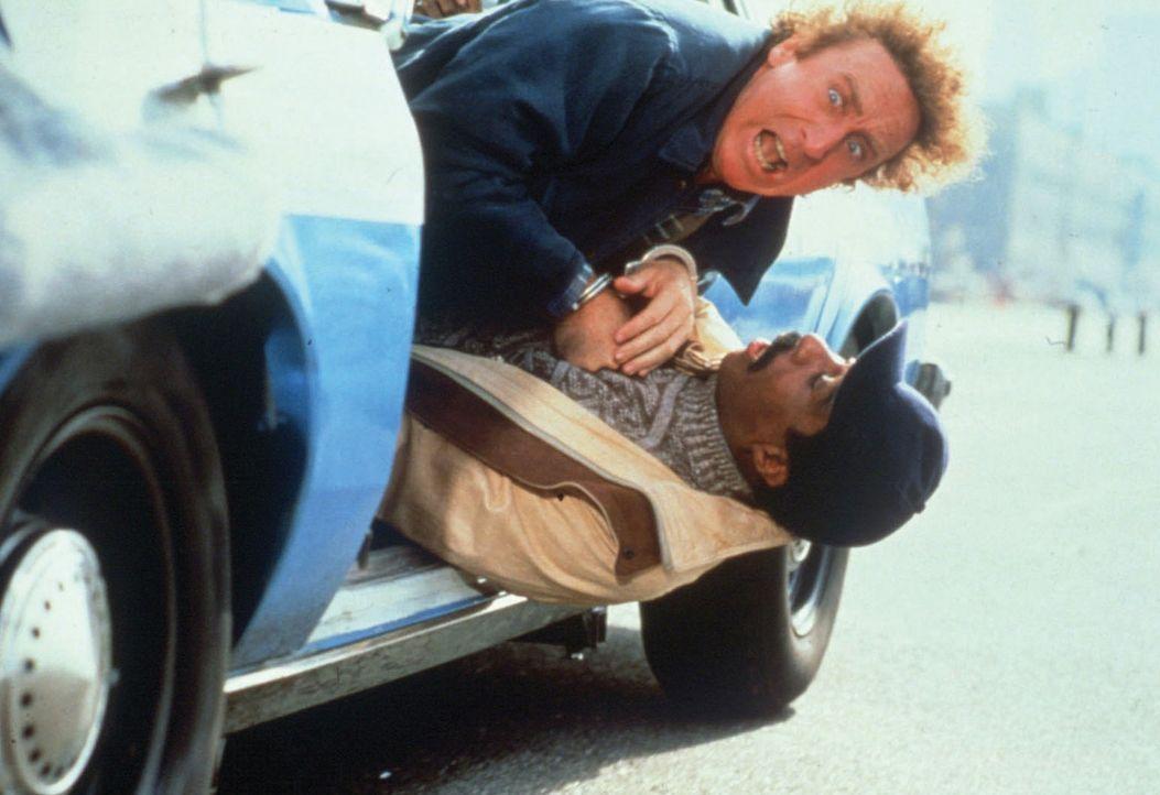 Dave (Gene Wilder, oben) und Wally (Richard Pryor, unten) kriegen sich immer wieder in die Haare ... - Bildquelle: TriStar Pictures