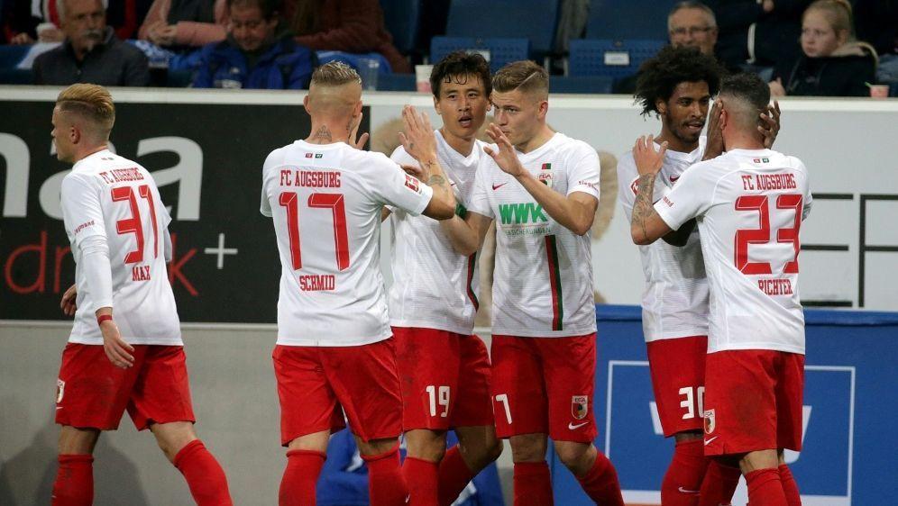 """Der FC Augsburg führt die """"Effizienztabelle"""" an - Bildquelle: PIXATHLONPIXATHLONSID"""