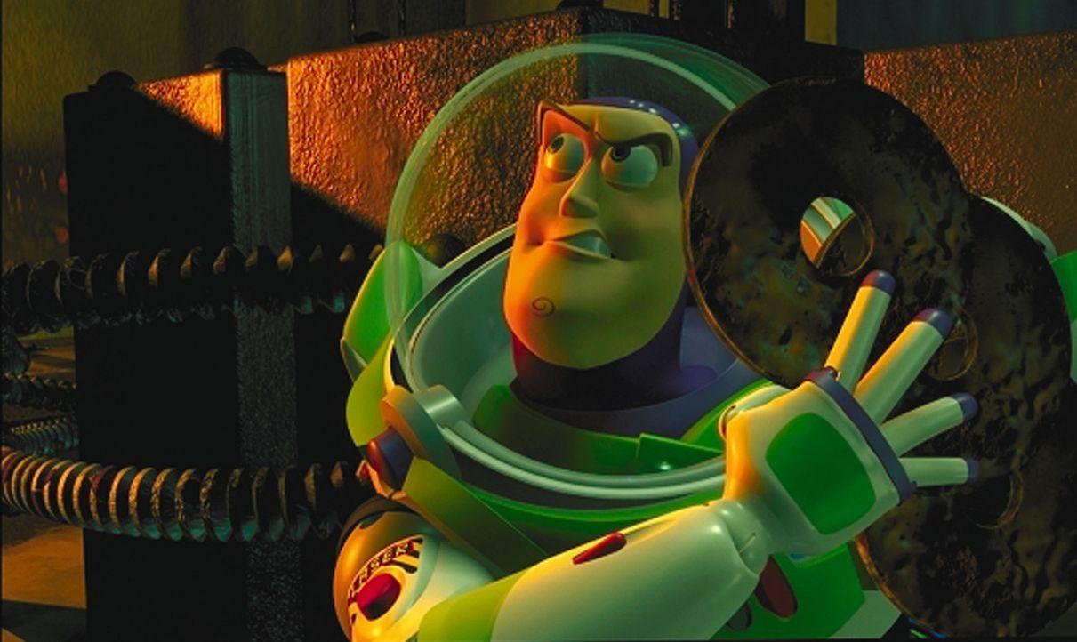 Um seinen Freund aus den Fängen seines Entführers zu befreien, stellt der Astronaut Buzz Lightyear (Bild) die ganze Stadt auf den Kopf ... - Bildquelle: Buena Vista International Television