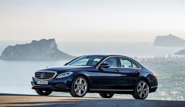 Mercedes C-Klasse (1) - Bildquelle: press photo, do not use for advertising p...