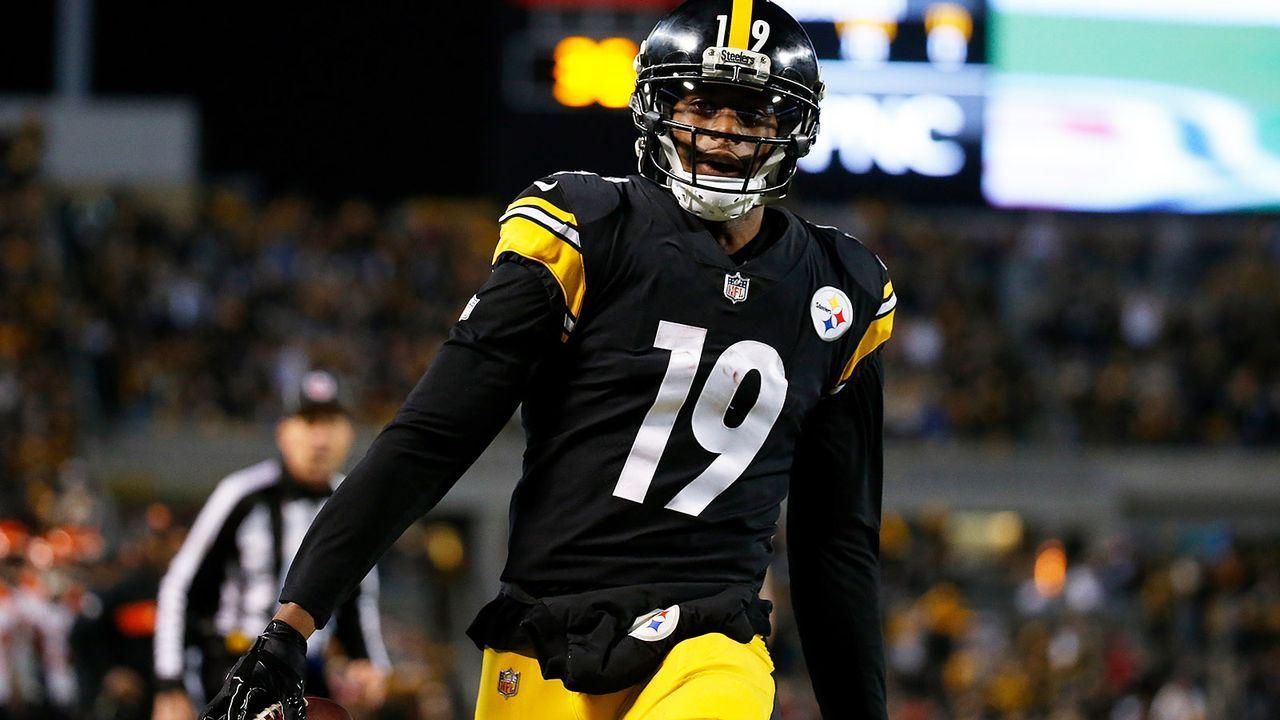 Platz 10: Juju Smith-Schuster (Pittsburgh Steelers) - Bildquelle: 2018 Getty Images