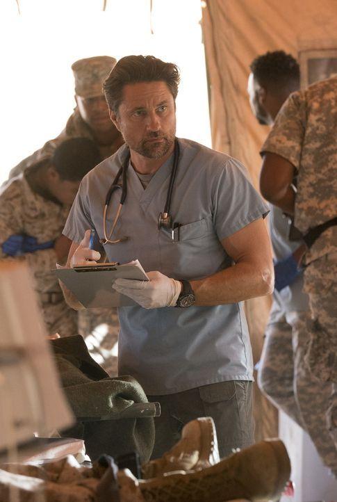 2007 im Irak hatte Nathan (Martin Henderson) mit den Folgen einer übereilten Entscheidung zu kämpfen ... - Bildquelle: Mitch Haaseth 2017 American Broadcasting Companies, Inc. All rights reserved.