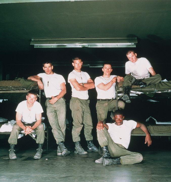 In Louisiana werden junge Rekruten für den Einsatz in Vietnam ausgebildet. Als realistische Simulation des Dschungelkriegs dient eine undurchdringli... - Bildquelle: 20th Century Fox Film Corporation