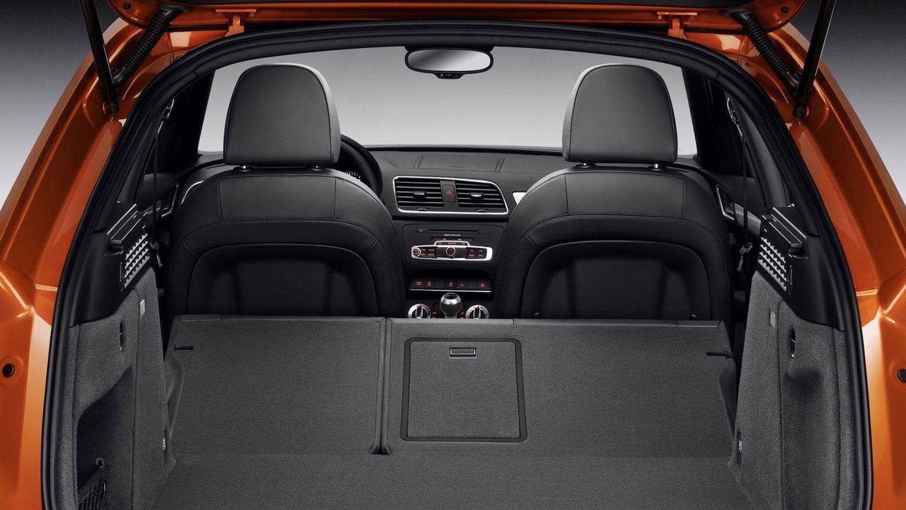Der Gepäckraum - Bildquelle: Audi