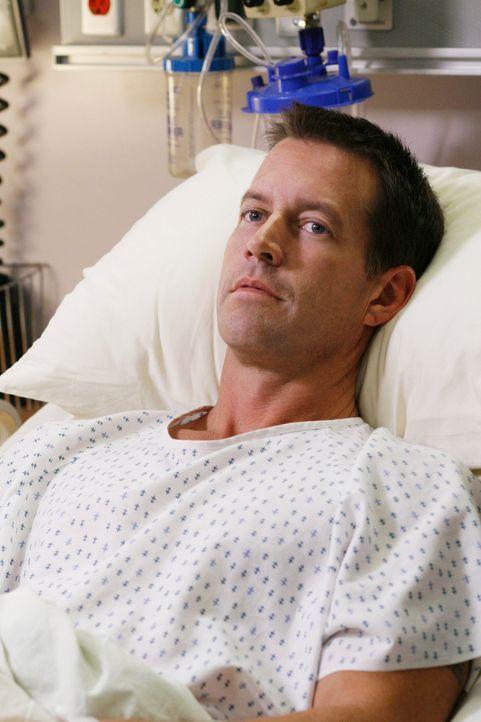 Die Nachricht, dass Mike (James Denton) aus dem Koma erwacht ist, verbreitet sich wie ein Lauffeuer. Susan bekommt es  allerdings als einzige vorers... - Bildquelle: 2005 Touchstone Television  All Rights Reserved