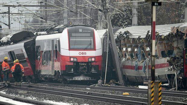 Zugunfall in Österreich