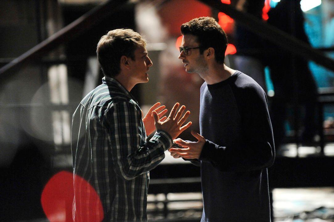 Ein neuer Fall beschäftigt das Team, doch was haben Patrick Birdwell (Brandon Sornberger, r.) und Hank (Alex Weed, l.) damit zu tun? - Bildquelle: ABC Studios