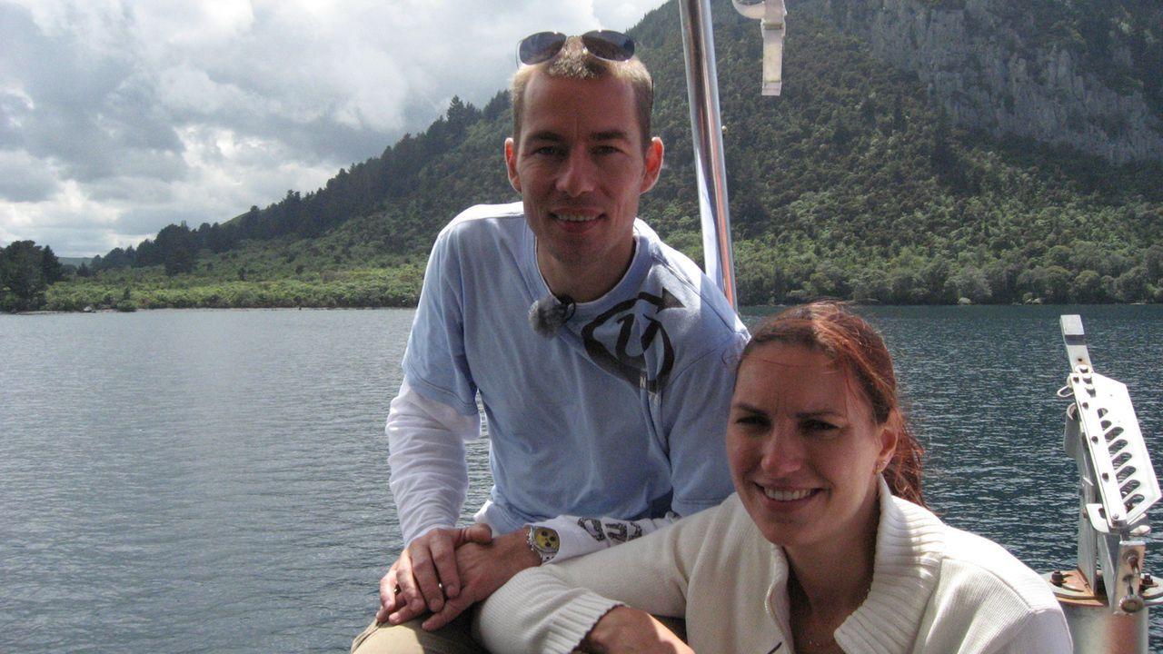 Stefan (38) und Carola (31) Kraiger sind vor zweieinhalb Jahren nach Neuseeland ausgewandert. Doch mit der Geburt von Tochter Zoe vor sechs Monaten... - Bildquelle: kabel eins