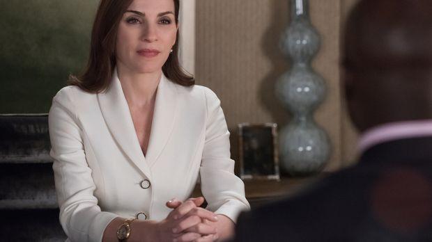 Nach ihrem Wahlsieg zur Bezirksstaatsanwältin muss Alicia (Julianna Margulies...