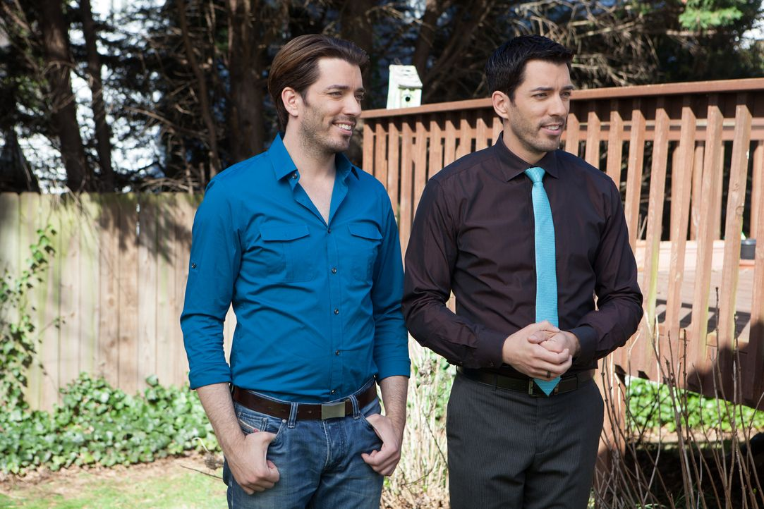 (v.l.n.r.) Jonathan Scott; Drew Scott - Bildquelle: Jessica McGowan 2014, HGTV/Scripps Networks, LLC.  All Rights Reserved/Jessica McGowan/Getty Images