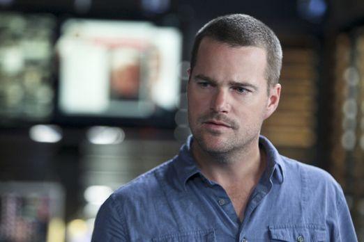 Versucht alles, um seine Kollegen zu retten: Callen (Chris O'Donnell) ... - B...