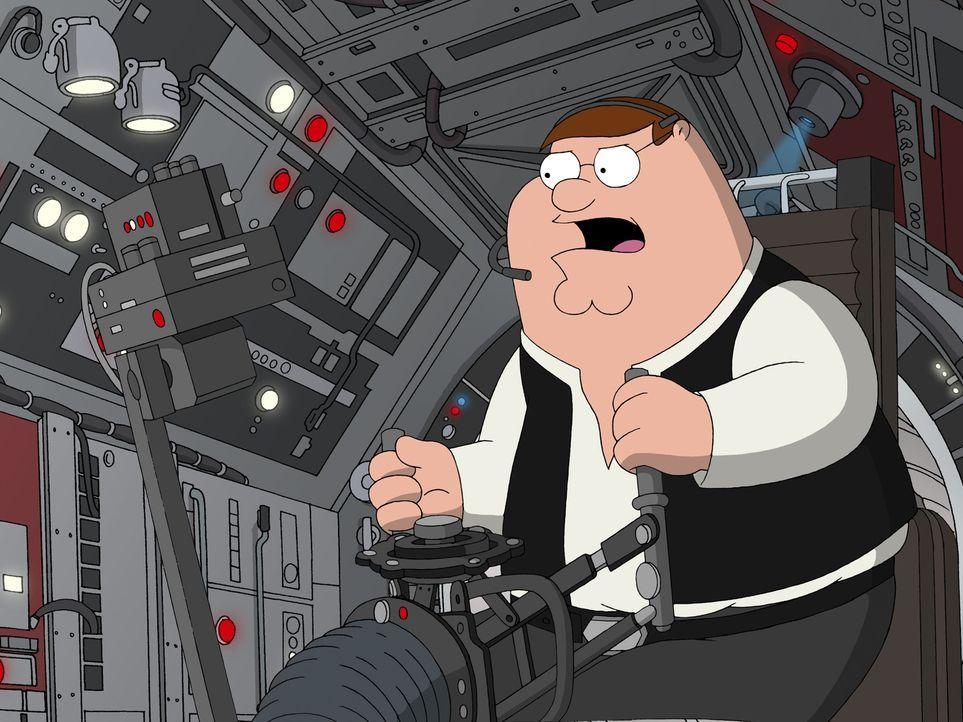 """Möge die Macht mit """"Family Guy"""" sein, der Griffin-Clan dreht die größte Science-Fiction-Saga aller Zeiten durch die Mangel: Peter als verwegener Han... - Bildquelle: TM +   Twentieth Century Fox Film Corporation. All Rights Reserved."""