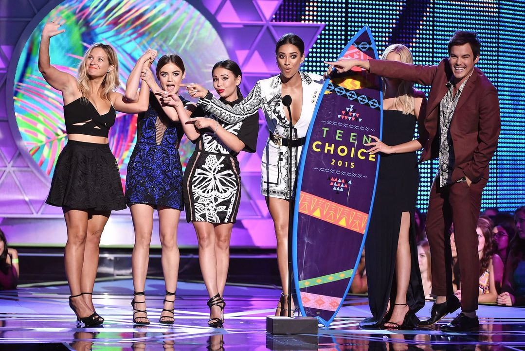 Television-Choice-TV-Show-Drama-Pretty-Little-Liars-15-08-16-getty-AFP - Bildquelle: getty-AFP