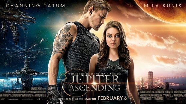 JUPITER ASCENDING - Plakat © 2014 Warner Bros. Entertainment Inc., WV Films I...