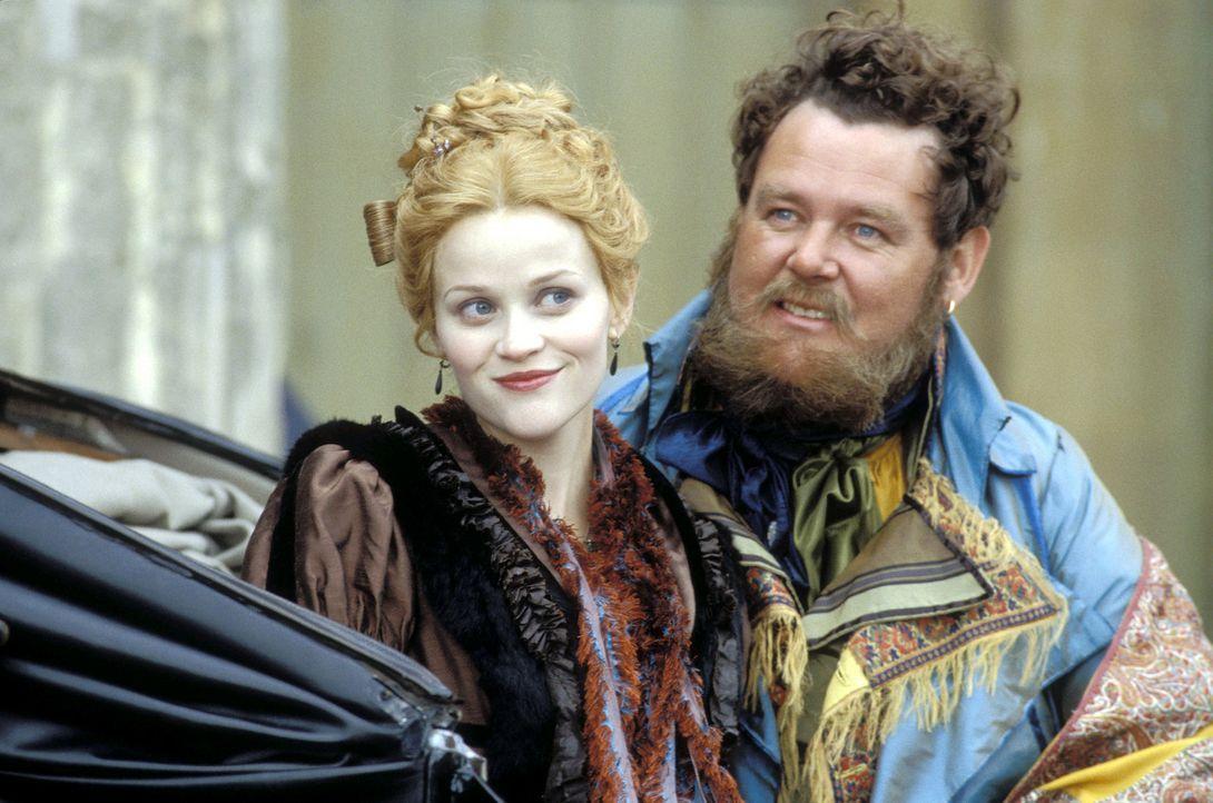 Jahre später: Nachdem Beckys (Reese Witherspoon, l.) Traum vom gesellschaftlichen Aufstieg gescheitert ist, arbeitet sie als Croupier und Animierda... - Bildquelle: Granada Film Productions