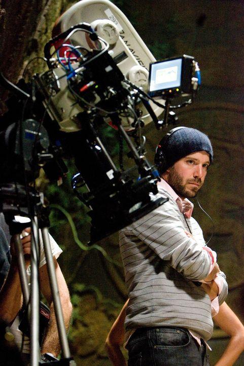 Regisseur Carter Smith beim Dreh ... - Bildquelle: 2008 DreamWorks LLC. All Rights Reserved.l