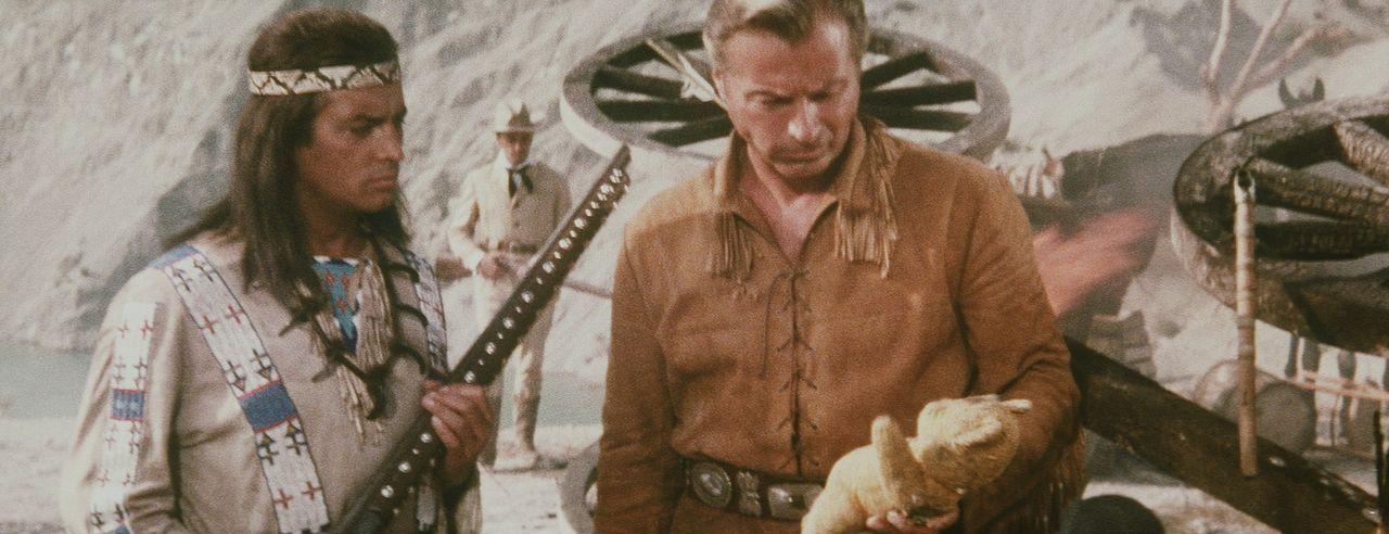 Um an die Ölvorkommen im Indianergebiet zu gelangen, stiftet die Forrester-Bande massive Unruhen zwischen Rot und Weiß. Erneut haben sie einen Sie... - Bildquelle: Columbia Pictures