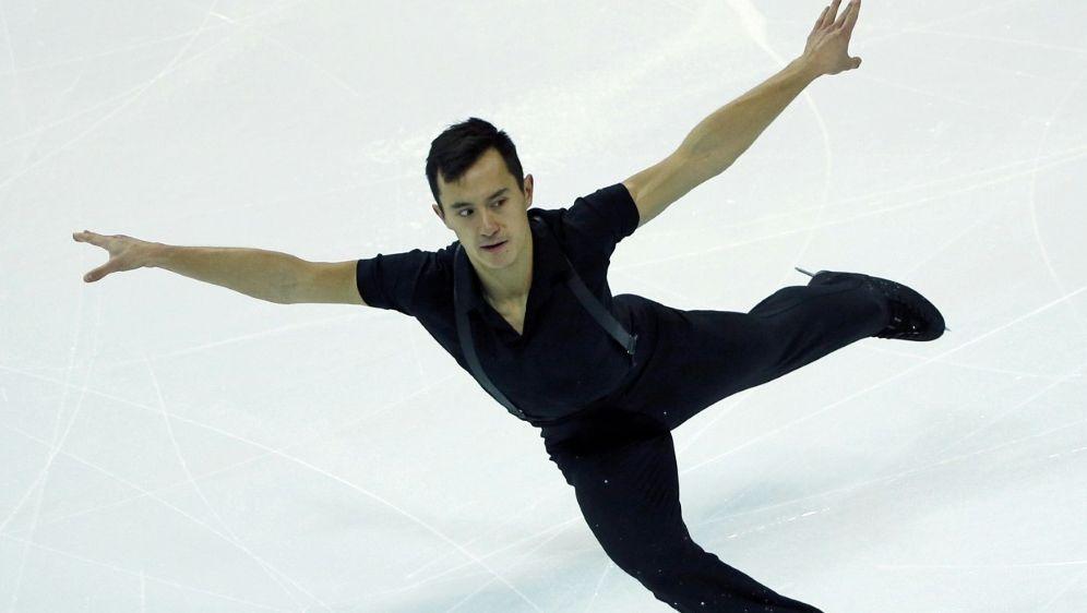 Patrick Chan wurde als Einzelläufer dreimal Weltmeister - Bildquelle: PIXATHLONPIXATHLONSID