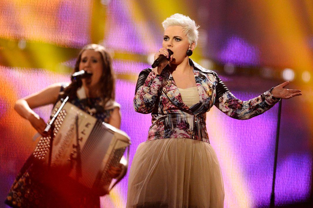 Eurovision-Song-Contest-Elaiza-Germany-1-140509-AFP - Bildquelle: AFP