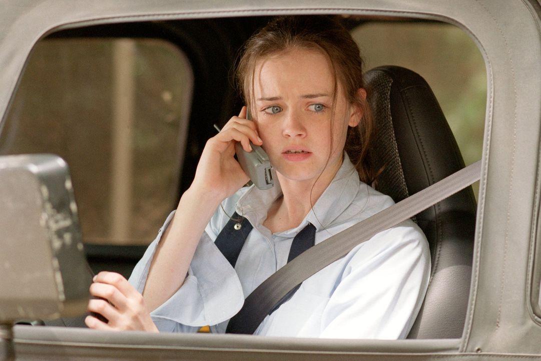 Nachdem Rory (Alexis Bledel) in einer Englischarbeit eine vier geschrieben hat, strengt sie sich für einen anderen Test ganz besonders an, doch das... - Bildquelle: 2000 Warner Bros.