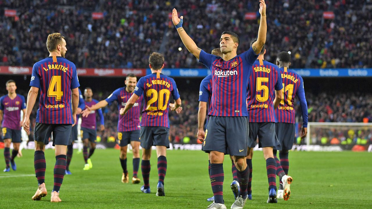 Platz 2: FC Barcelona (Primera Division/Spanien) - Bildquelle: 2018 Getty Images