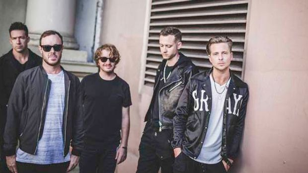 OneRepublic mit ihrem neuen Album