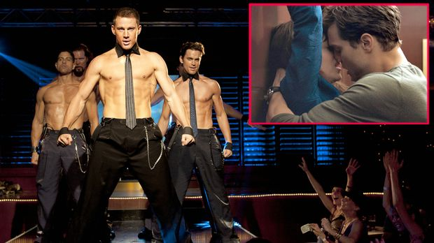 fifty shades of grey kriegt konkurrenz magic mike xxl ist hei er prosieben. Black Bedroom Furniture Sets. Home Design Ideas