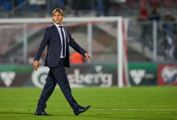 Trainer Julen Lopetegui und Spanien wohnen in Krasnodar