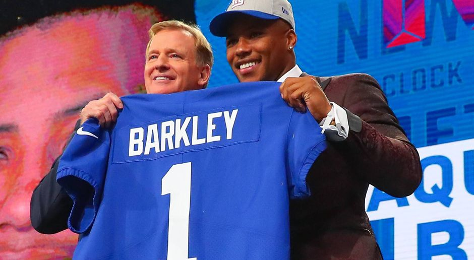 2. New York Giants: RB Saquon Barkley  - Bildquelle: imago/Icon SMI