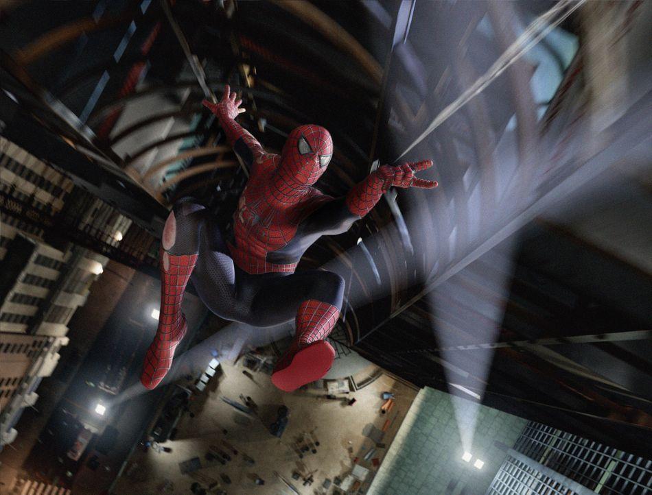 Das Leben von Peter Parker (Tobey Maguire) könnte nicht besser laufen: Er hat Frieden geschlossen mit der Existenz seines Alter Egos und genießt s... - Bildquelle: 2007 Marvel Characters, Inc.  2007 CPII. All Rights Reserved.