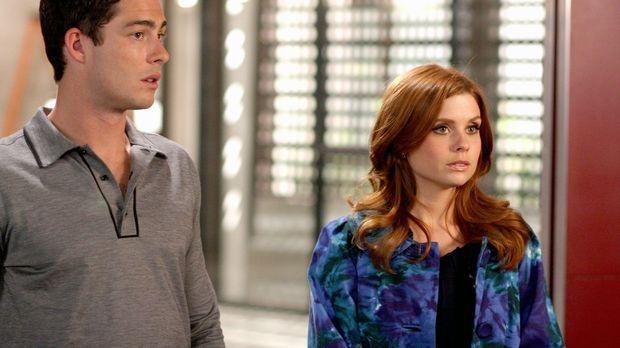Megan (Joanna Garcia, r.) und Will (Brian Hallisay, l.) haben ein Vorstellung...