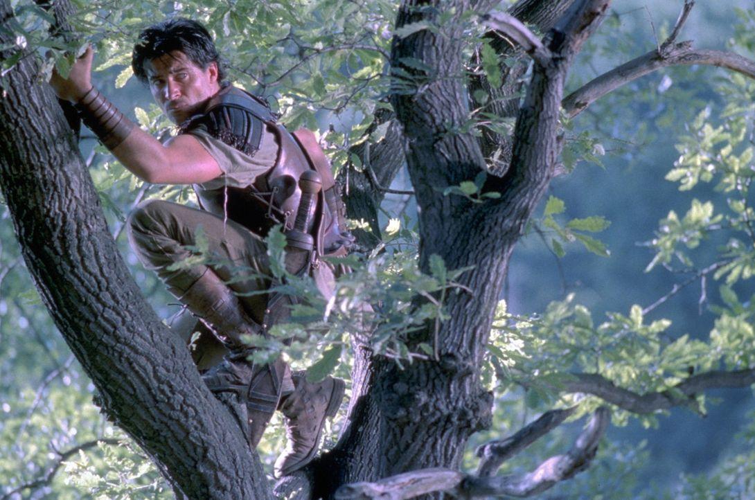 Spartacus (Goran Visnjic) kennt nur noch ein Ziel: Freiheit für sich und Freiheit für die, die mit ihm gehen. Schon in wenigen Wochen schließen sich... - Bildquelle: USA Network Pictures