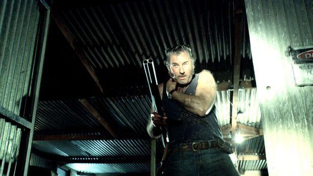Gibt nicht auf: der angeschossene Mick (John Jarratt) ... © Kinowelt