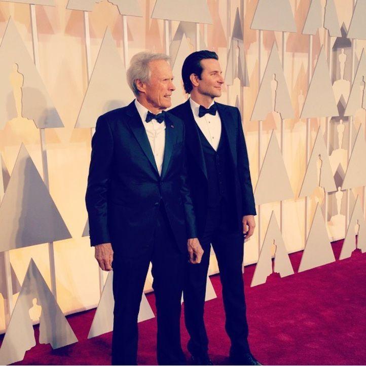 Clint Eastwood und Bradley Cooper; instagram.com/theacademy