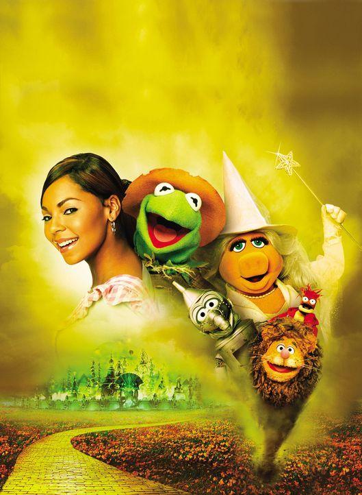 Eines Tages wird das junge Mädchen Dorothy Gale (Ashanti) von einem Tornado erfasst und ins ferne Land Oz gewirbelt. Dort trifft sie auf eine sprech... - Bildquelle: The Muppets Holding Company, LLC. MUPPETS characters and elements are trademarks of the Muppet Holding Company, LLC.  All rights reserved