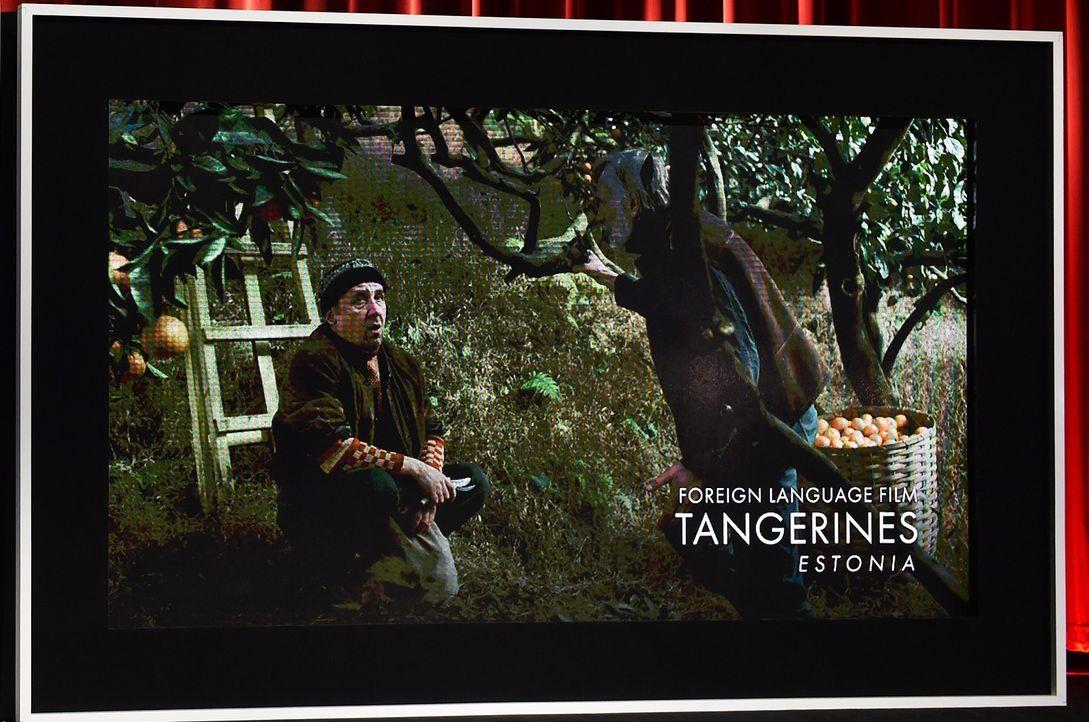 Tangerines-150115-getty-AFP - Bildquelle: getty-AFP