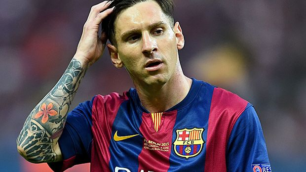 Platz 3 (geteilt): Lionel Messi - Bildquelle: 2015 Getty Images