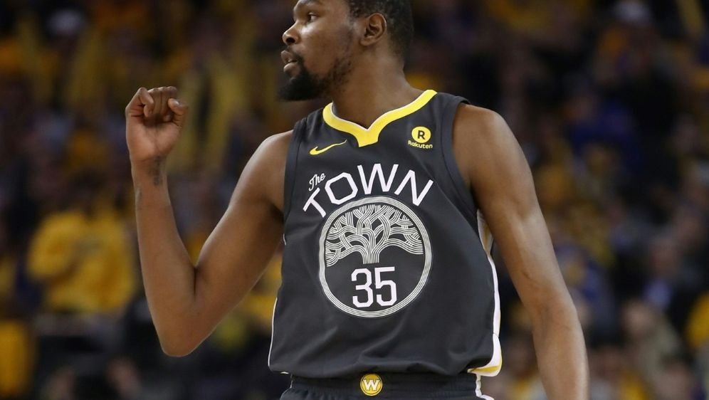 Warriors-Topscorer Kevin Durant - Bildquelle: GETTY AFPSIDEZRA SHAW